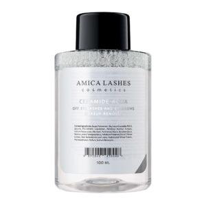 Amica Lashes Ceramide Aqua Off Eyelashes and Eyebrows Makeup Remover Средство для снятия макияжа с ресниц и бровей. Купить. сдоставкой