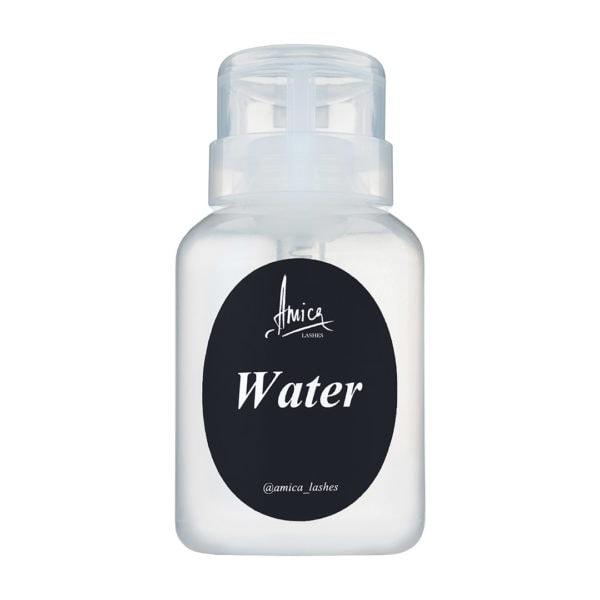 Многоразовый дозатор для воды от Amica Lashes Cosmetics для работы любого мастера (ламимейкера, бровиста). Купить с доставкой.