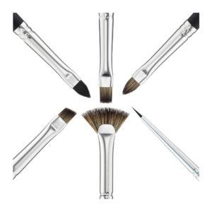 Amica Lashes Профессиональный набор из 6ти кистей Audrey Collection для нанесения и снятия составов и пигмента, ламинирования ресниц и бровей. Заказать с доставкой