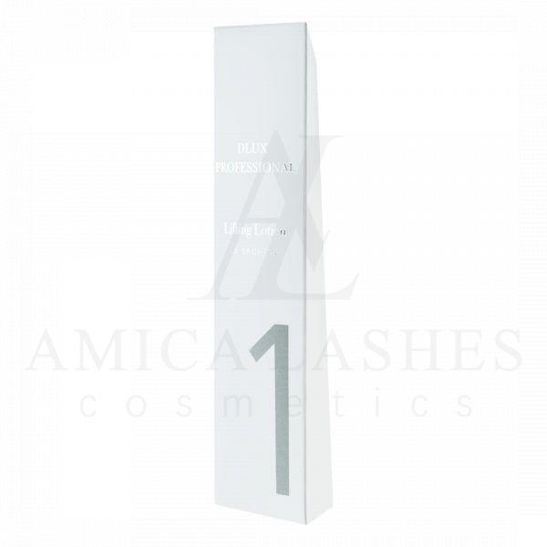 Набор составов 1 - 15 шт. DLUX. Набор для ламинирования ресниц Illumination Lift. 3 STEP IN 1 SET