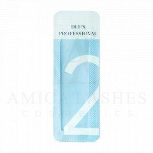 Состав №2 Setting Lotion от Dlux Professional для ламинирования ресниц в саше купить с доставкой Amica Lashes